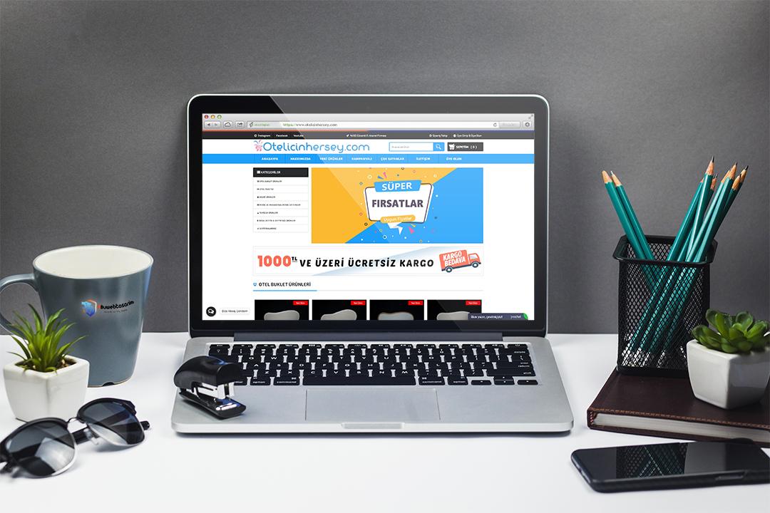 Otel İçin Herşey E-ticaret Web Projemiz